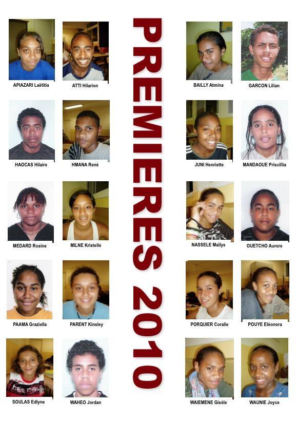 Les trombinoscopes 2010