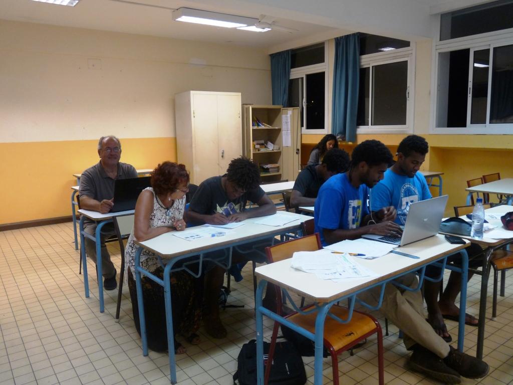 Planning d'intervention des répétiteurs