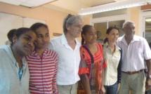 La visite de André-Jean LEOPOLD, Membre du Gouvernement